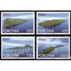 Wyspy Owcze 2000 Mi 381-84 ** Marynistyka