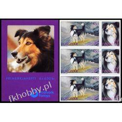 Wyspy Owcze 1994 Mi MH 7 ** Pies Psy Liechtenstein
