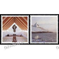 Wyspy Owcze 1998 Mi 345-46 ** Kościół Nes Marynistyka
