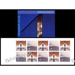 Wyspy Owcze 1998 MH 16 ** Kościół Nes Ptaki
