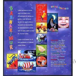 Wyspy Owcze 2003 ark 450-59 ** Dzieci Bajki Kot Muzyka