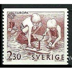 Szwecja 1989 Mi 1549 ** Europa Cept Słania