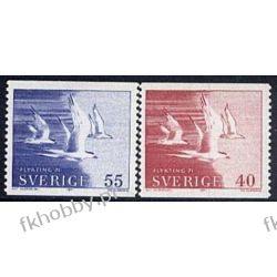 Szwecja 1971 Mi 704-05A ** Ptak Ptaki