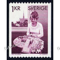 Szwecja 1976 Mi 938 C ** Słania Folklor