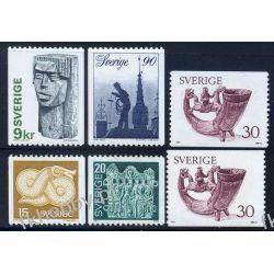 Szwecja 1976 Mi 954-58 xy ** Słania Kominiarz
