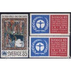Szwecja 1972 Mi 758-59 AC ** Folklor Czesław Słania Pozostałe