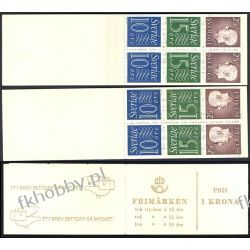 Szwecja 1965 MH 9 ab/E x2 ** Czesław Słania Marynistyka