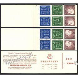 Szwecja 1965 MH 9 ab/D x2 ** Czesław Słania Ssaki