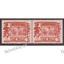 Szwecja 1966 Mi 555 dl/dr ** Folklor Czesław Słania