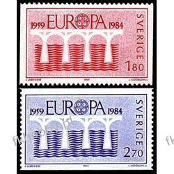 Szwecja 1980 Mi 1270-71 ** Europa Cept Most Marynistyka