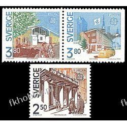 Szwecja 1990 Mi 1589-91 ** Europa Cep Pozostałe