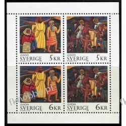 Szwecja 1995 HB 229 ** Europa Cept Folklor Dzieci