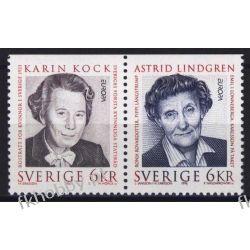 Szwecja 1996 Mi 1943-44 Do ** Cept Astrid Lindgren Naszarkowski San Marino