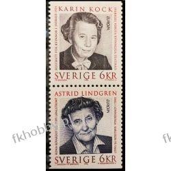 Szwecja 1996 Mi 1943-44 ** Cept Astrid Lindgren Naszarkowski Druk wklęsły