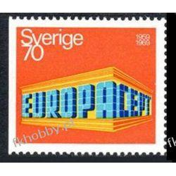 Szwecja 1969 Mi 634 Dl ** Europa Cept Ssaki