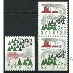 Szwecja 1986 Mi 1397-98 DC ** Europa Cept Pozostałe