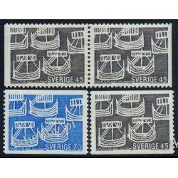 Szwecja 1969 Mi 629-30 AD ** Europa Cept Statek Pozostałe