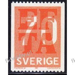Szwecja 1967 Mi 573 C ** EFTA Europa Cept Pozostałe