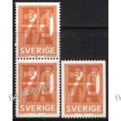 Szwecja 1967 Mi 573 ** EFTA Europa Cept Druk wklęsły