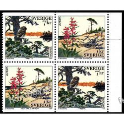Szwecja 1998 HB 281 ** Europa Cept Sowa Ptaki Pozostałe