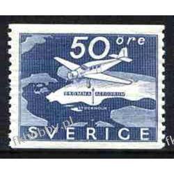 Szwecja 1936 Mi 239 ** Samolot Lotnictwo Sport