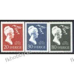 Szwecja 1958 Mi 443-45 C ** Nagroda Nobla Ptaki Marynistyka