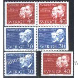 Szwecja 1965 Mi 542-43 ** Nagr Nobla Sienkiewicz