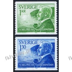Szwecja 1976 Mi 970-71 ** Nobel Nagroda Nobla Marynistyka
