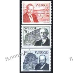 Szwecja 1974 Mi 886-88 ** Nagroda Nobla Flora