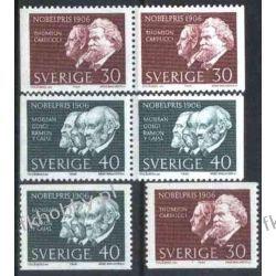 Szwecja 1966 Mi 566-67 ** Nagroda Nobla Pozostałe