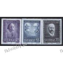 Szwecja 1970 Mi 697-99 C ** Nagroda Nobla Pozostałe