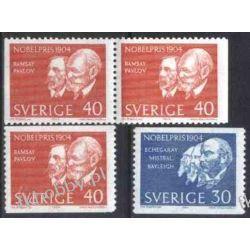 Szwecja 1964 Mi 529-30 ** Nagroda Nobla Ssaki