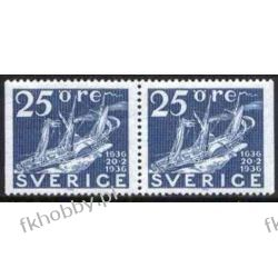 Szwecja 1966 Mi 563 DlDr ** Statek Marynistyka Marynistyka