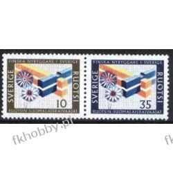 Szwecja 1967 Mi 584-85 zd ** Harcerstwo Harcerstwo i Skauting