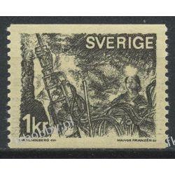 Szwecja 1970 Mi 689 A ** Górnictwo Druk wklęsły