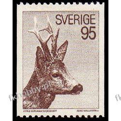 Szwecja 1972 Mi 751 ** Koziołek Sarna Druk wklęsły