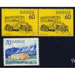 Szwecja 1973 Mi 790-91 ** Motoryzacja Samochód