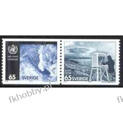 Szwecja 1973 Mi 806-07 ** Meteorologia
