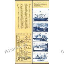 Szwecja 1974 MH 48 ** Marynistyka Statek Okręt Ptaki