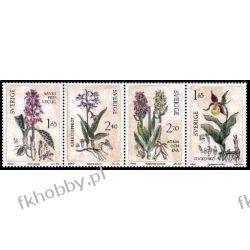 Szwecja 1982 Mi 1205-08 ** Kwiaty Orchidea