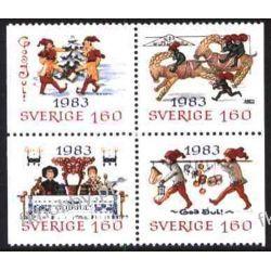 Szwecja 1983 Mi 1258-61 ** Boże Narodzenie Zabawki