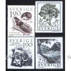 Szwecja 1984 Mi 1272-75 ** Zwierzęta Byk Mysz Pozostałe
