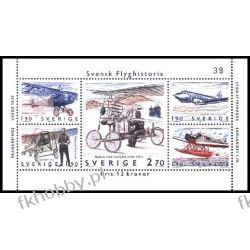 Szwecja 1984 Mi BL 12 ** Samolot Lotnictwo Pozostałe