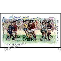 Szwecja 1988 Mi 1505-07 ** Sport Piłka Nożna Polonica