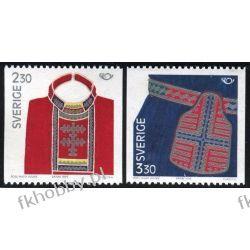 Szwecja 1989 Mi 1537-38 ** Folklor Polonica
