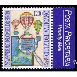 Watykan 1999 Mi 1302 ** Cept Europarat Balon Lotnictwo