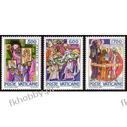 Watykan 1980 Mi 867-69 ** Europa Cept św Metody Pozostałe