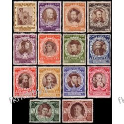 Watykan 1946 Mi 126-39 ** Święci Portrety