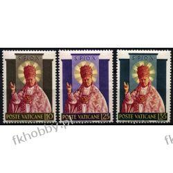 Watykan 1954 Mi 220-22 ** Pius X Papież Pozostałe