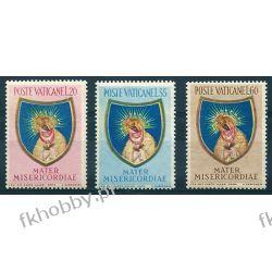 Watykan 1954 M 227-29 ** Madonna Ostra Brama Wilno Druk wklęsły